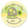 Baby Turtle - Personalized Baby Shower Sticker Labels - 24 ct