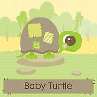 baby turtle personalized baby shower mini candy bar wrapper favors