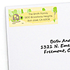 Turtle - Personalized Birthday Party Return Address Labels - 30 ct