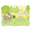 Turtle - Personalized Birthday Party Invitations