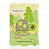 Turtle - Personalized Birthday Party Thank You Cards