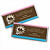 Twin Baby Carriages 1 Boy & 1 Girl - Personalized Baby Shower Candy Bar Wrapper Favors