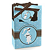 Mommy Silhouette It's Twin Boys - Personalized Baby Shower Favor Boxes