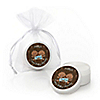 Twin Modern Baby Boys African American - Personalized Baby Shower Lip Balm Favors