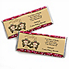 Twin Little Cowboys - Personalized Baby Shower Candy Bar Wrapper Favors