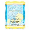 Twin Ducky Ducks - Personalized Baby Shower Vellum Overlay Invitations