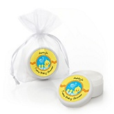 Twin Ducky Ducks - Lip Balm Personalized Baby Shower Favors