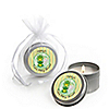 Twin Froggy Frogs - Personalized Baby Shower Candle Tin Favors