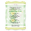 Twin Froggy Frogs - Personalized Baby Shower Vellum Overlay Invitations