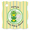 Twin Froggy Frogs - Personalized Baby Shower Tags - 20 ct