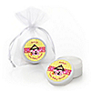 Twin Girl Puppy Dogs - Personalized Baby Shower Lip Balm Favors