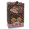 Twin Modern Baby Girls African American - Personalized Baby Shower Favor Boxes