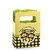 Twin Monkeys Neutral - Personalized Baby Shower Mini Favor Boxes