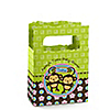 Twin Monkeys 1 Boy & 1 Girl - Personalized Baby Shower Mini Favor Boxes