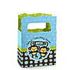 Twin Monkey Boys - Personalized Baby Shower Mini Favor Boxes