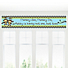 Twin Monkey Boys - Personalized Baby Shower Banners