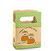 Twin Little Pumpkins Caucasian - Personalized Baby Shower Mini Favor Boxes
