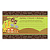 Twins Funfari™ - Fun Safari Jungle - Personalized Baby Shower Helpful Hint Advice Cards