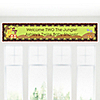 Twins Funfari™ - Fun Safari Jungle - Personalized Baby Shower Banners