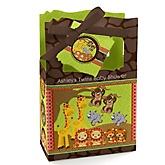 Twins Funfari™ - Fun Safari Jungle - Personalized Baby Shower Favor Boxes
