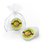 Twins Funfari™ - Fun Safari Jungle - Personalized Baby Shower Lip Balm Favors