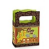 Twins Funfari™ - Fun Safari Jungle - Personalized Baby Shower Mini Favor Boxes