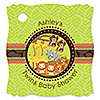 Twins Funfari™ - Fun Safari Jungle - Personalized Baby Shower Tags - 20 ct