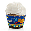 Twin Under The Sea Critters - Baby Shower Cupcake Wrappers