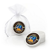 Twin Under The Sea Critters - Lip Balm Personalized Baby Shower Favors