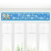 Twin All Stars - Personalized Baby Shower Banner