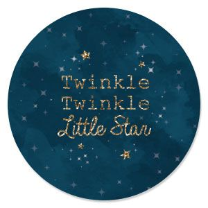 Superb Twinkle Twinkle Little Star   Baby Shower Theme