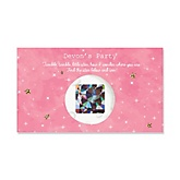 Pink Twinkle Twinkle Little Star - Personalized Baby Shower Scratch-Off Game – 22 Count