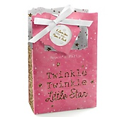 Pink Twinkle Twinkle Little Star - Personalized Party Favor Boxes