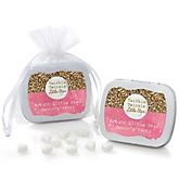 Pink Twinkle Twinkle Little Star - Personalized Party Mint Tin Favors