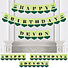 Twins Two Peas in a Pod - Personalized Birthday Party Bunting Banner & Decorations
