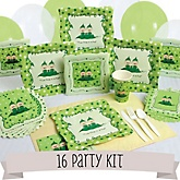 Twins Two Peas in a Pod Caucasian - 16 Person Baby Shower Kit