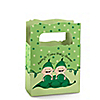Twins Two Peas in a Pod Caucasian  - Personalized Baby Shower Mini Favor Boxes
