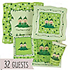 Twins Two Peas in a  Pod Caucasian  - Birthday Party 32 Big Dot Bundle