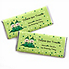 Twins Two Peas in a Pod Caucasian - Personalized Birthday Party Candy Bar Wrapper Favors