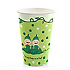 Twins Two Peas in a Pod Caucasian - Birthday Party Hot/Cold Cups - 8 ct
