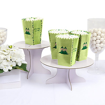 Twins Two Peas in a Pod - Personalized Party Popcorn Boxes