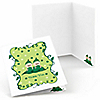 Twins Two Peas in a Pod Caucasian - Birthday Party Thank You Cards - 8 ct