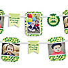 Twins Two Peas in a Pod - Birthday Party Photo Garland Banners