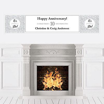 We Still Do - 10th Wedding Anniversary - Personalized Weddin...