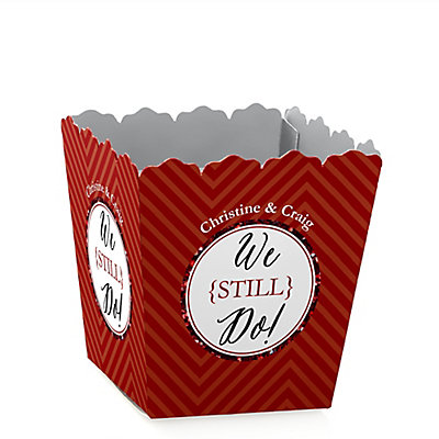 We Still Do - 40th Wedding Anniversary - Personalized Wedding Anniversary Candy Boxes