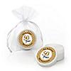 We Still Do - 50th Wedding Anniversary - Personalized Wedding Anniversary Lip Balm Favors