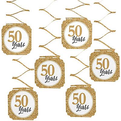 We Still Do - 50th Wedding Anniversary Hanging Decorations -...