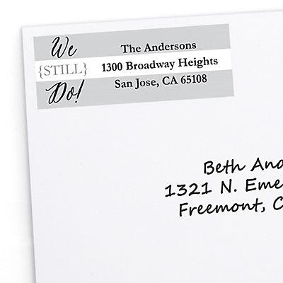 We Still Do - Wedding Anniversary - Personalized Wedding Ann...