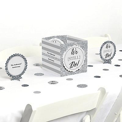 We Still Do - Wedding Anniversary Centerpiece & Table Decora...
