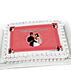 Custom Wedding Couples Coral - Personalized Bridal Shower Cake Toppers